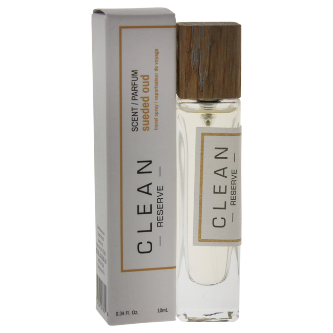Reserve Sueded Oud by Clean for Unisex - 0.34 oz EDP Spray (Mini)