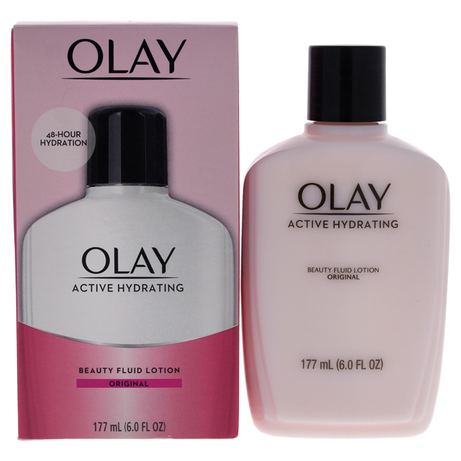 Active Hydrating Beauty Fluid Original by Olay for Unisex - 6 oz Smoother