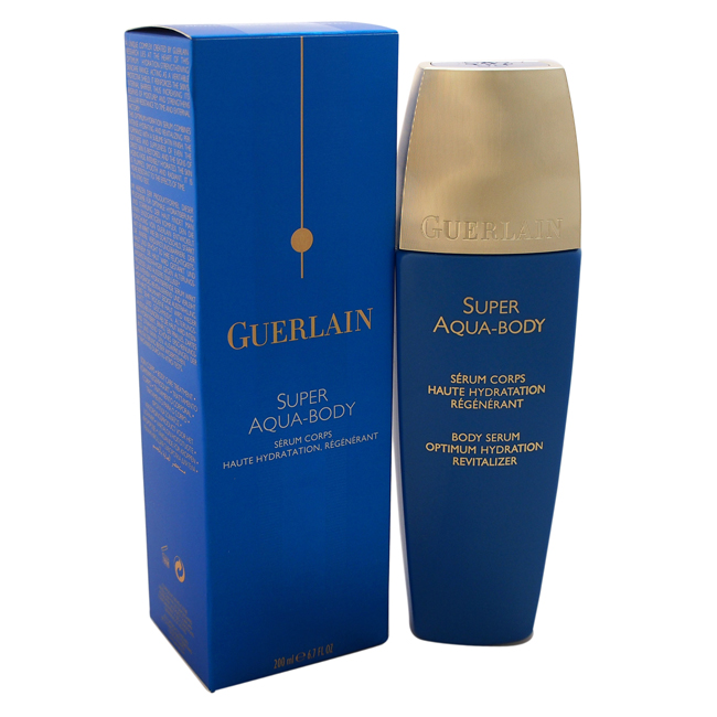 Super Aqua-Serum Body Optimum Hydration Revitalizer/Desert Rose Flower Complex by Guerlain for Unisex - 6.7 oz Serum