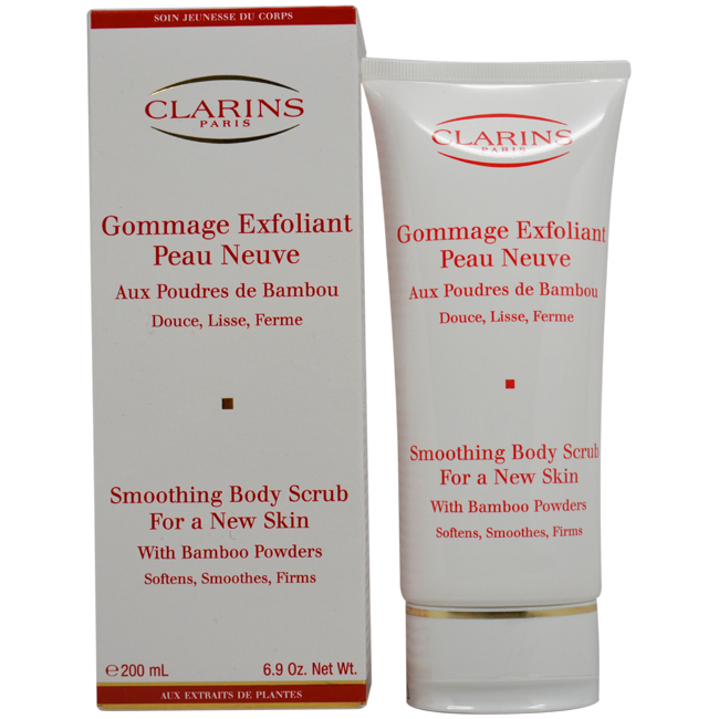 Exfoliating Body Scrub For Smooth Skin with Bamboo Powders by Clarins for Unisex - 6.9 oz Body Care