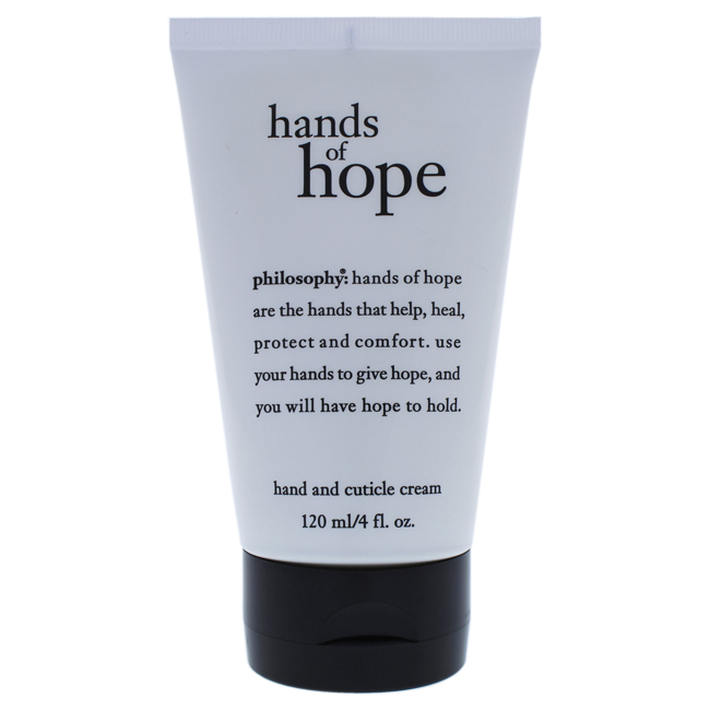 Hands of Hope Hand And Cuticle Cream by Philosophy for Unisex - 4 oz Cream
