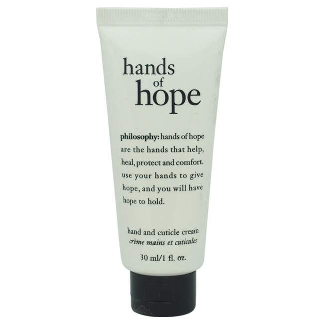 Hands of Hope Hand And Cuticle Cream by Philosophy for Unisex - 1 oz Cream