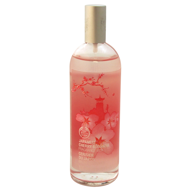 Japanese Cherry Blossom Fragrance Mist by The Body Shop for Unisex - 3.3 oz Body Mist
