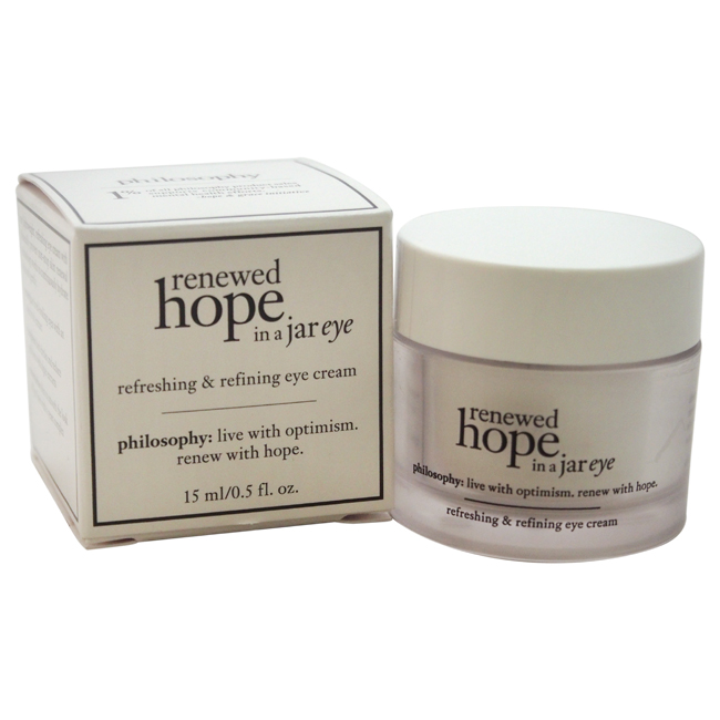Renewed Hope in a Jar Eye by Philosophy for Unisex - 0.5 oz Eye Cream
