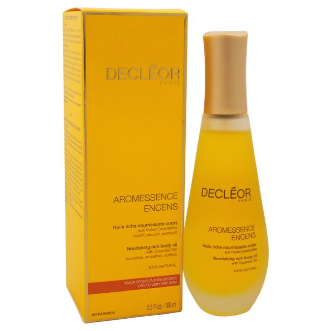 Aromessence Encens Nourishing Rich Body Oil by Decleor for Unisex - 3.3 oz Oil