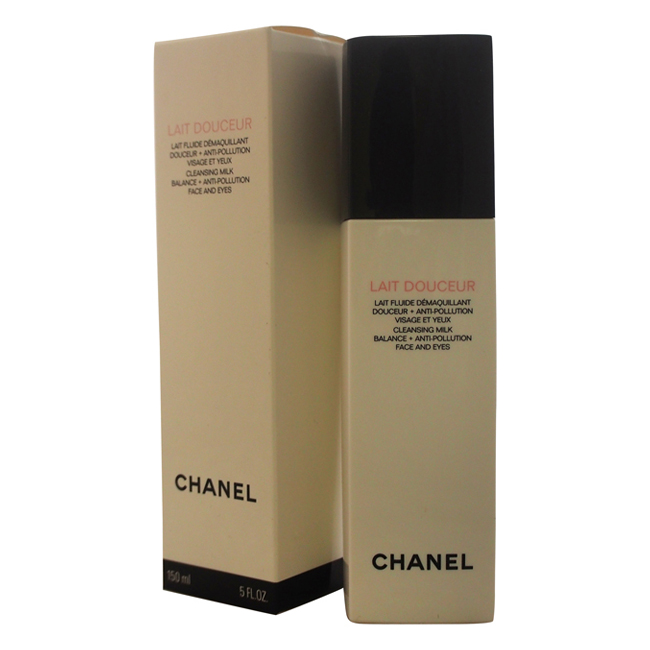 Lait Douceur Cleansing Milk Balance + Anti-Pollution Face and Eyes by Chanel for Unisex - 5 oz Cleansing Milk
