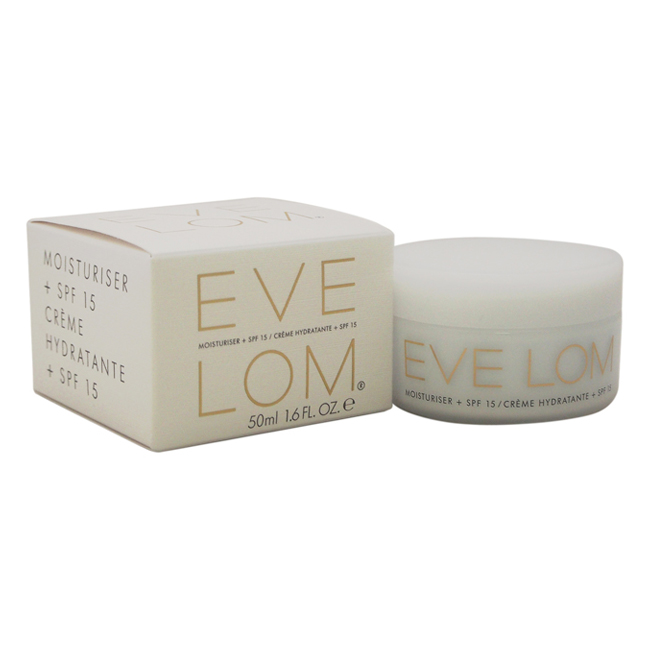 Moisturizer SPF 15 by Eve Lom for Unisex - 1.6 oz Sunscreen
