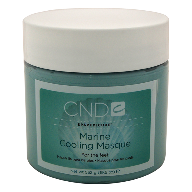 Spapedicure Marine Cooling Masque for the Feet by CND for Unisex - 19.5 oz Masque