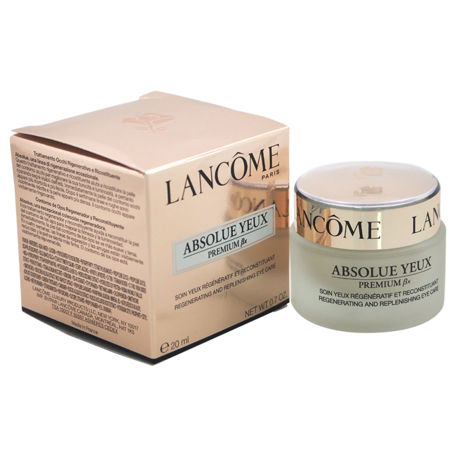 Absolue Yeux Premium Bx Regenerating and Replenishing Eye Care by Lancome for Unisex - 0.7 oz Cream