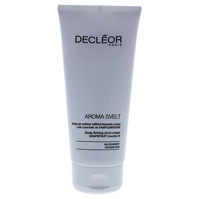 Aroma Svelt Body Firming Oil-in Cream by Decleor for Unisex - 6.7 oz Cream