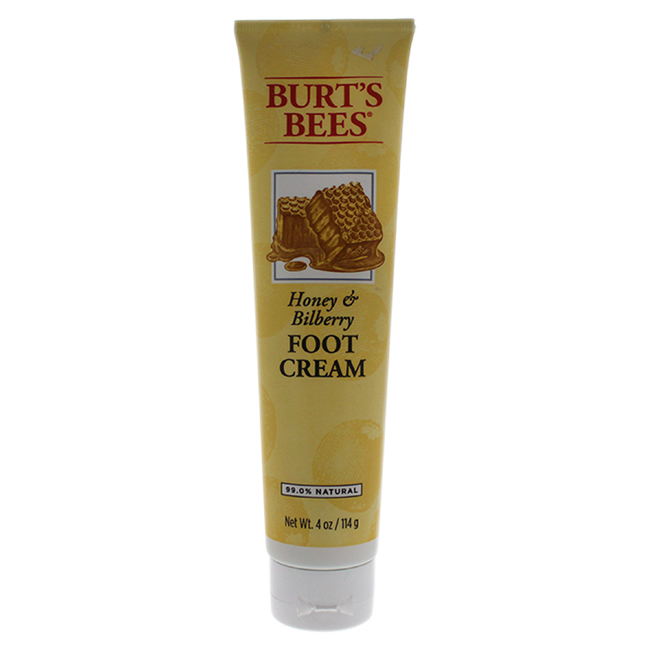 Honey & Bilberry Foot Cream by Burt's Bees for Unisex - 4 oz Cream