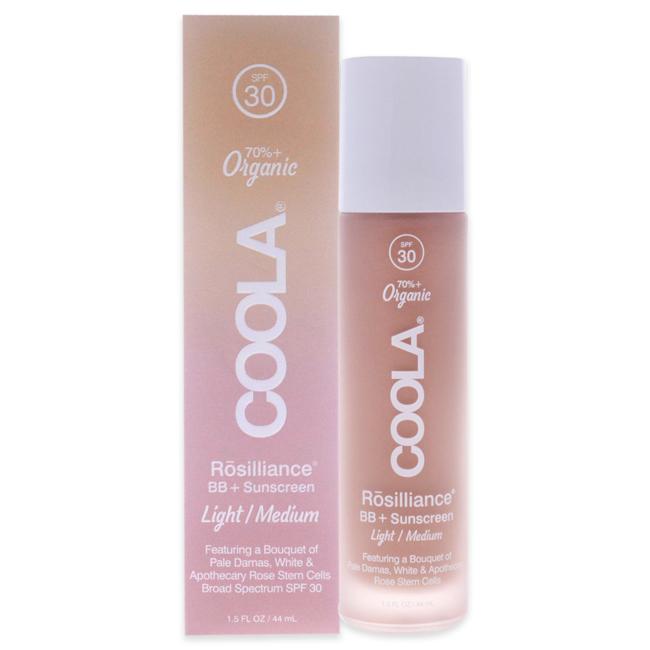 Rosilliance Organic BB Cream SPF 30 - Light/Medium by Coola for Unisex - 1.5 oz Cream