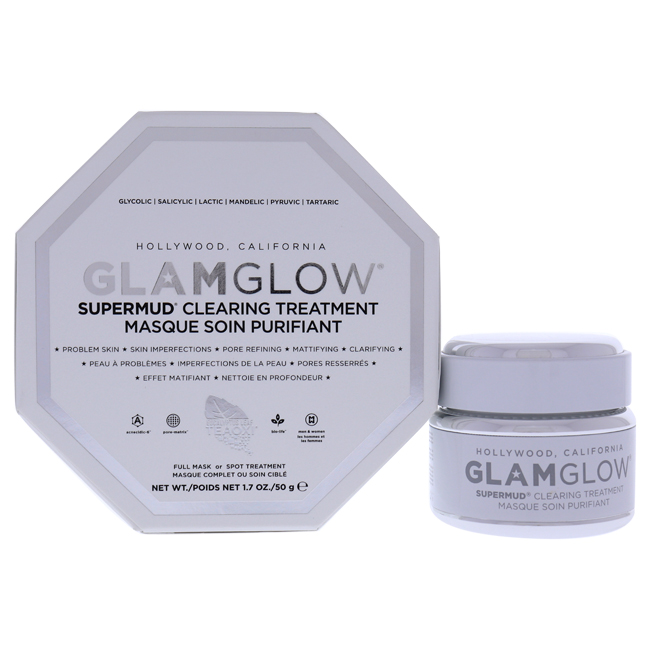 Supermud Clearing Treatment by Glamglow for Unisex - 1.7 oz Treatment