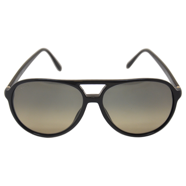 Gucci GG 1026/S 807-Black by Gucci for Unisex - 59-14-140 mm Sunglasses