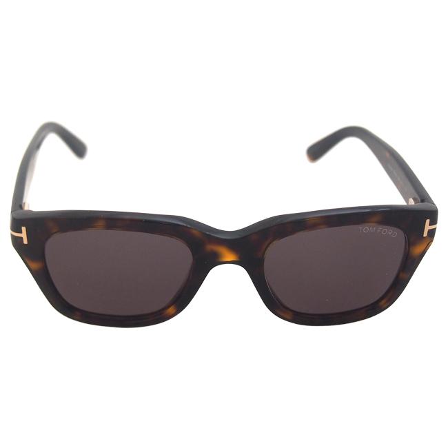 Tom Ford FT0237 Snowdon 52N - Shiny Dark Havana by Tom Ford for Unisex - 50-21-145 mm Sunglasses