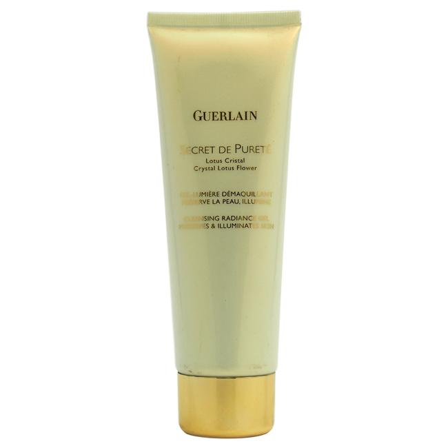 Secret De Purete Cleansing Radiance Gel by Guerlain for Unisex - 4.2 oz Gel (Tester)