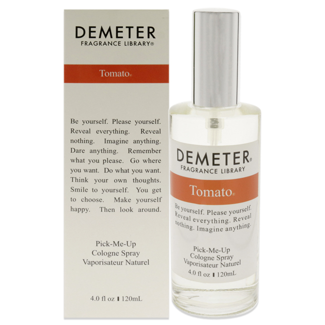 Tomato by Demeter for Women - 4 oz Cologne Spray