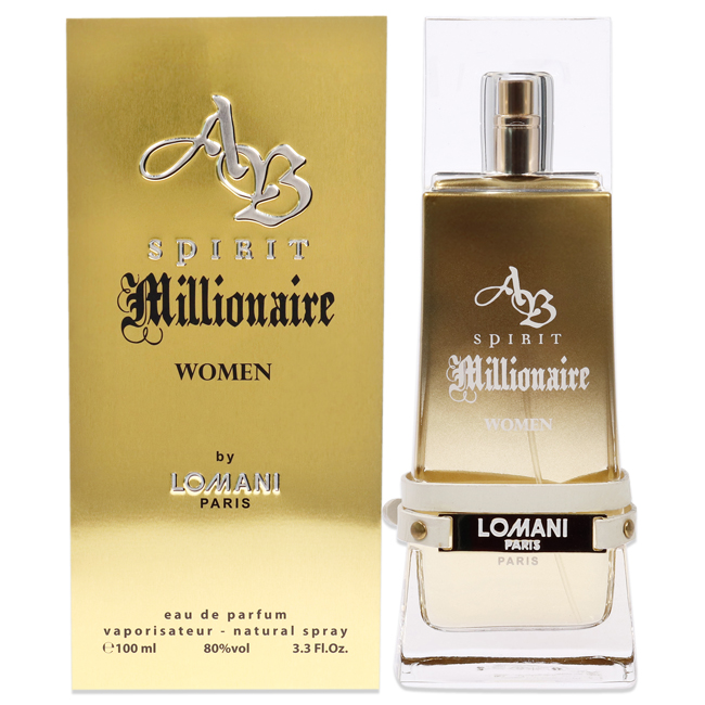 2 pack ab spirit millionaire by lomani for women