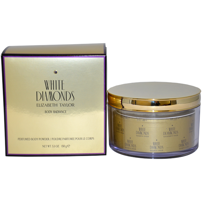 White Diamonds by Elizabeth Taylor for Women - 5.3 oz Perfumed Body Powder