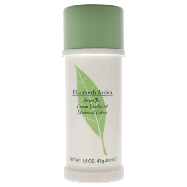 Green Tea by Elizabeth Arden for Women - 1.5 oz Cream Deodorant