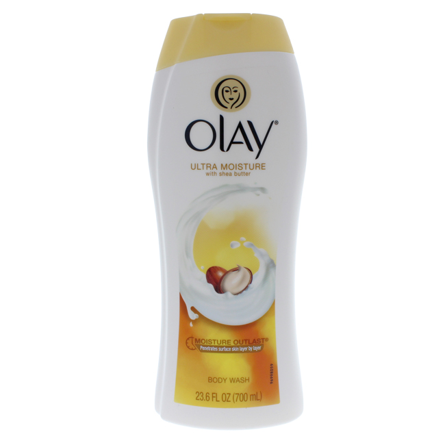 Ultra Moisture Body Wash With Shea Butter by Olay for Women - 23.6 oz Body Wash