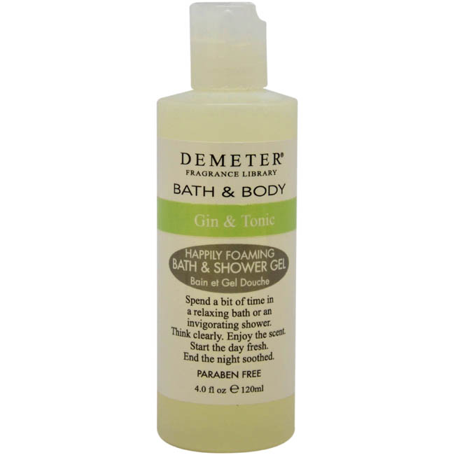 Gin and Tonic by Demeter for Women - 4 oz Bath & Shower Gel