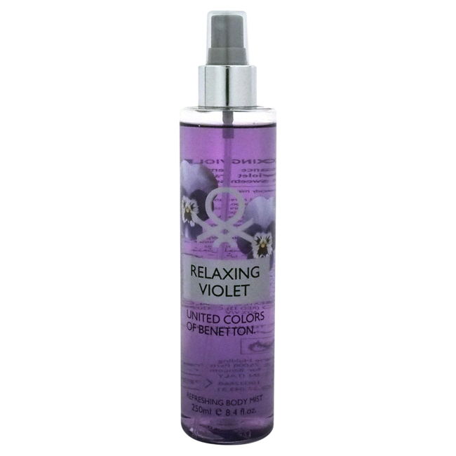 Relaxing Violet by United Colors of Benetton for Women - 8.4 oz Body Mist