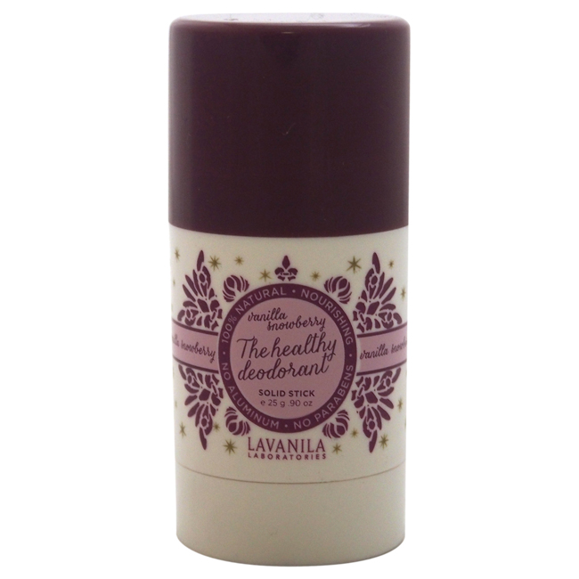 The Healthy Deodorant - Vanilla Snowberry by Lavanila for Women - 0.9 oz Deodorant Stick