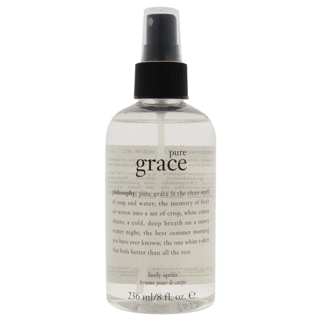 Pure Grace Body Spritz by Philosophy for Women - 8 oz Body Spray