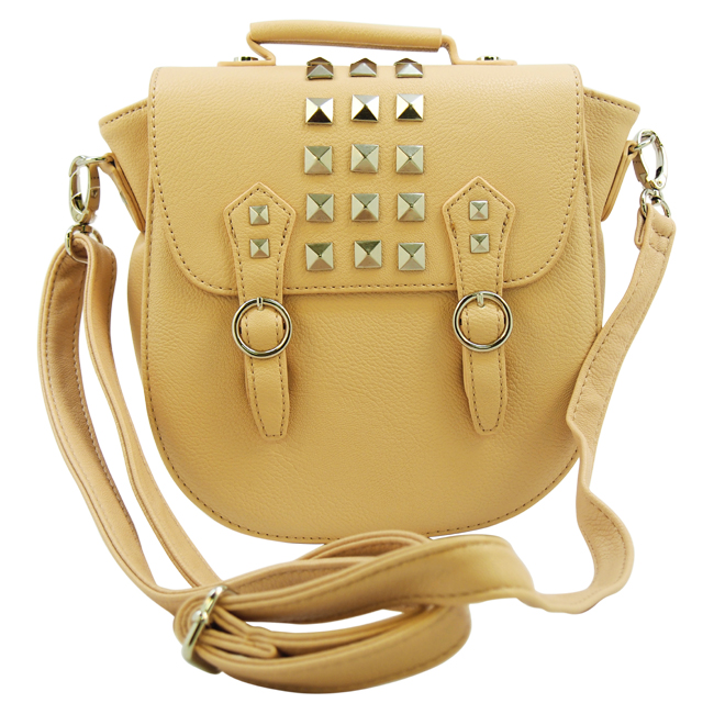 Bregan Studded Crossbody-Blush by Steve Madden for Women - 1 Pc Bag