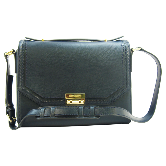 Gemma Whip Stitch Shoulder Bag- Dark Carbon by BCBG Max Azria for Women - 1 pc Bag
