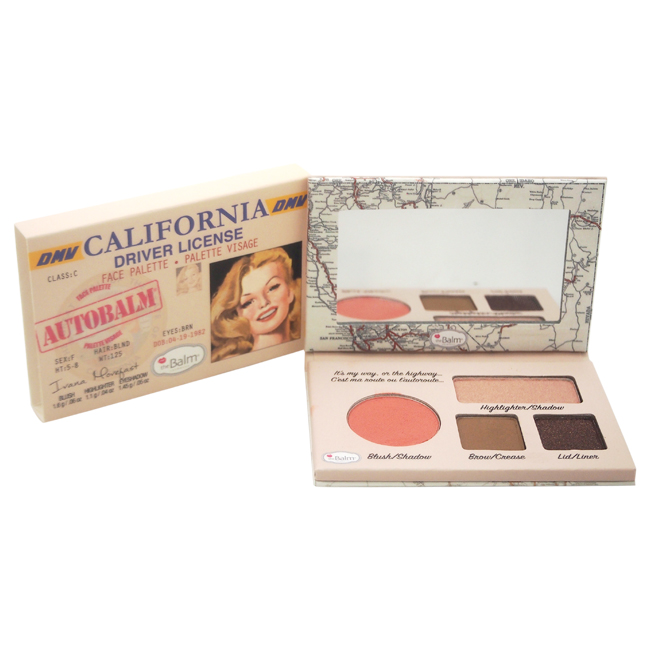 Autobalm California Face Pelette by the Balm for Women - 1 Pc Palette