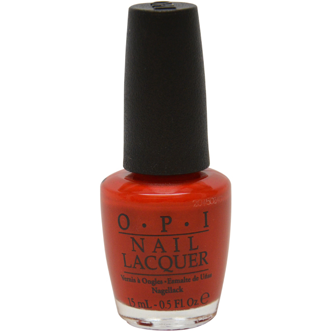 Nail Lacquer # NL A16 The Thrill Of Brazil by OPI for Women - 0.5 oz Nail Polish