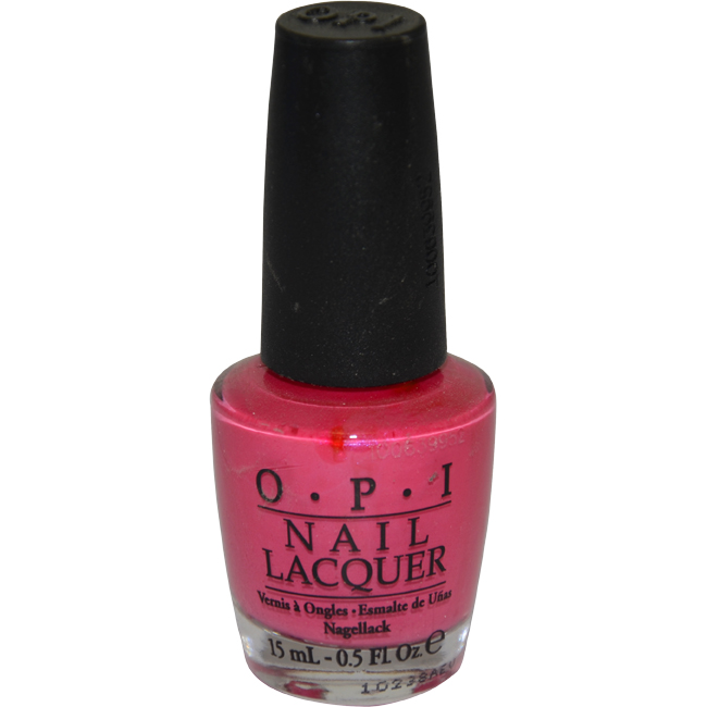 Nail Lacquer # NL A20 La Paz-itively Hot by OPI for Women - 15 ml Nail Polish