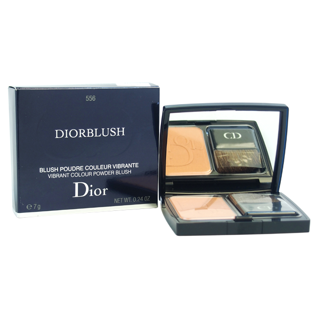 Diorblush Vibrant Colour Powder Blush - # 556 Amber Show by Christian Dior for Women - 0.24 oz Blush