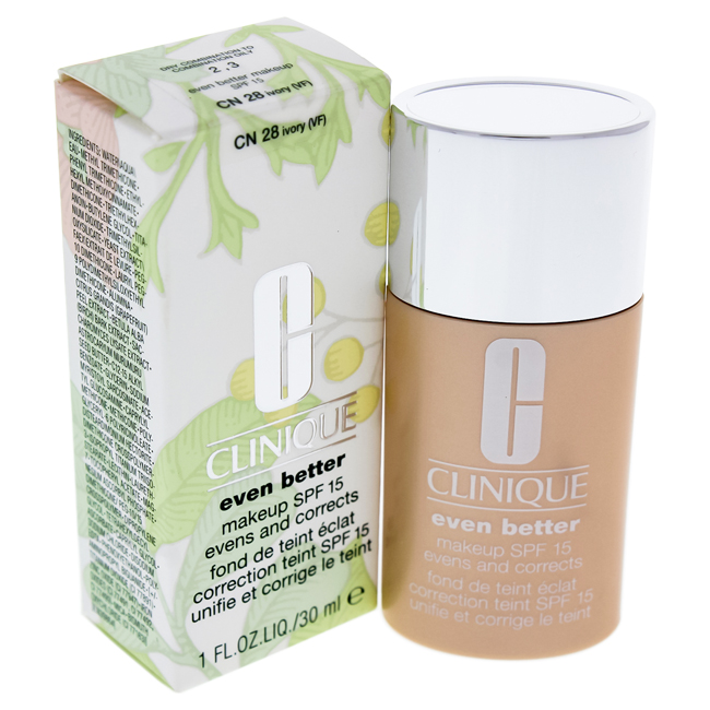 Even Better Makeup SPF15#03 Ivory(VF-N)-Dry Combination To Combination Oily Skin by Clinique for Women - 1 oz Foundation
