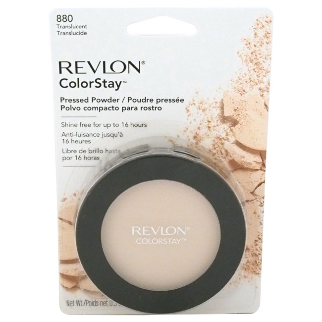 ColorStay Pressed Powder - # 880 Translucent by Revlon for Women - 0.3 oz Powder