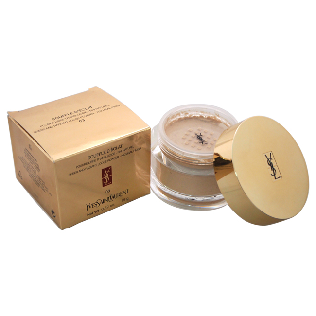 Souffle D'Eclat Sheer and Radiant Loose Powder Natural Finish - # 3 by Yves Saint Laurent for Women - 0.52 oz Powder