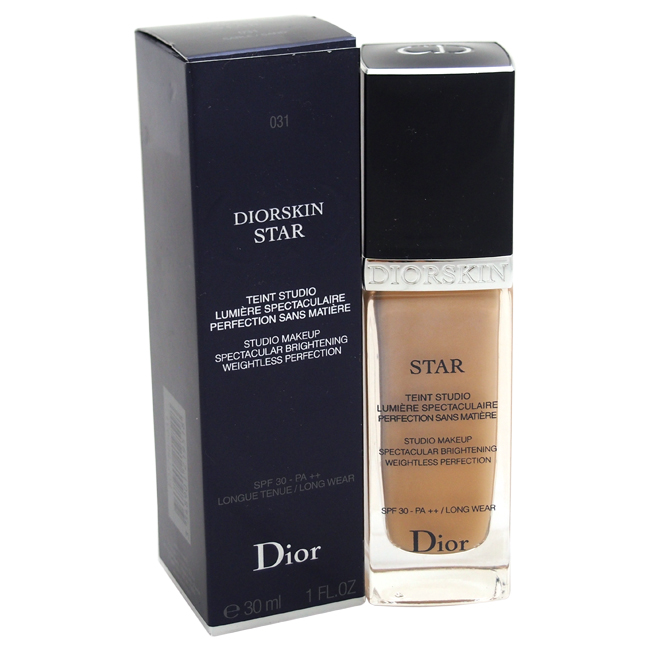 Diorskin Star Studio Makeup Spectacular Brightening SPF 30 - # 031 Sand by Christian Dior for Women - 1 oz Foundation