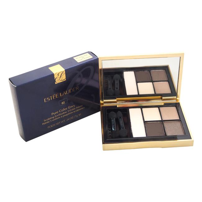 Pure Color Envy Sculpting EyeShadow 5-Color Palette - # 02 Ivory Power by Estee Lauder for Women - 1 Pc Palette