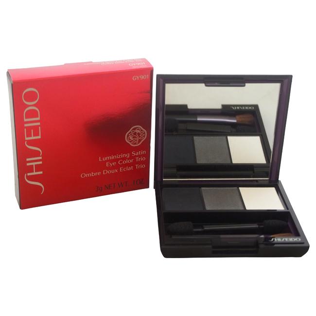 Luminizing Satin Eye Color Trio - # GY901 Snow Shadow by Shiseido for Women - 0.1 oz Eye Color