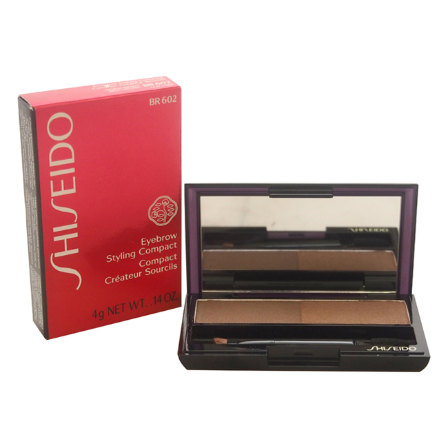 Eyebrow Styling Compact - # BR602 Medium Brown by Shiseido for Women - 0.14 oz Compact