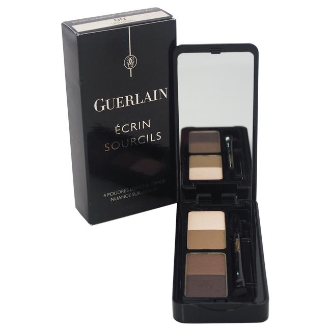 Eyebrow Kit 4 Long-Lasting Powders - # 00 Universel by Guerlain for Women - 0.14 oz Powder