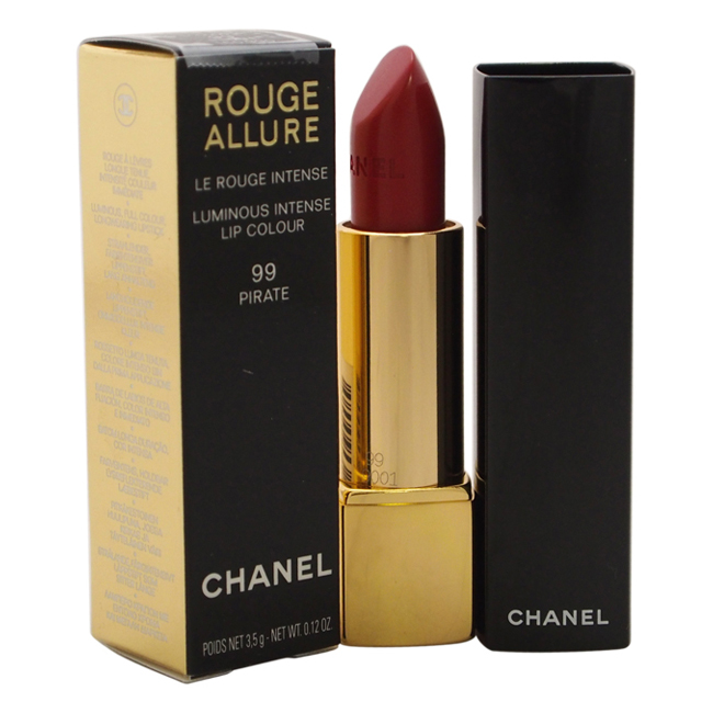 Rouge Allure Luminous Intense Lip Colour - # 99 Pirate by Chanel for Women - 0.12 oz Lipstick