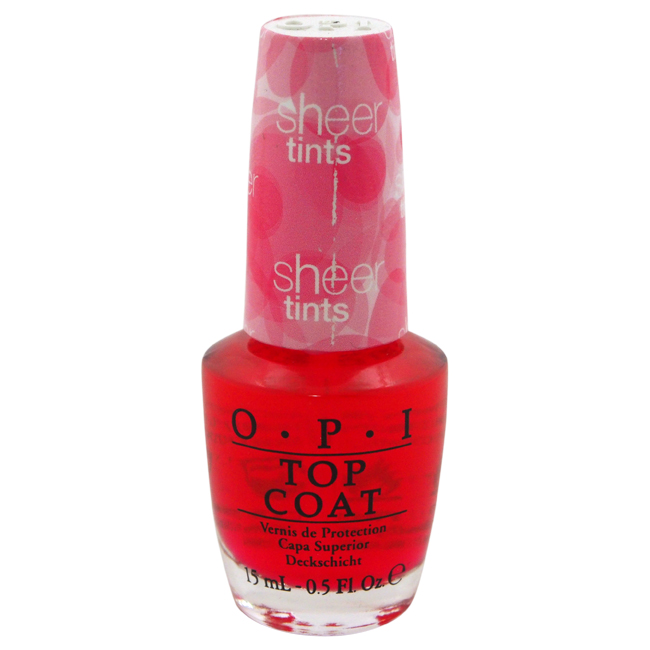 Top Coat - # NT S02 Be Magentale With Me by OPI for Women - 0.5 oz Nail Polish