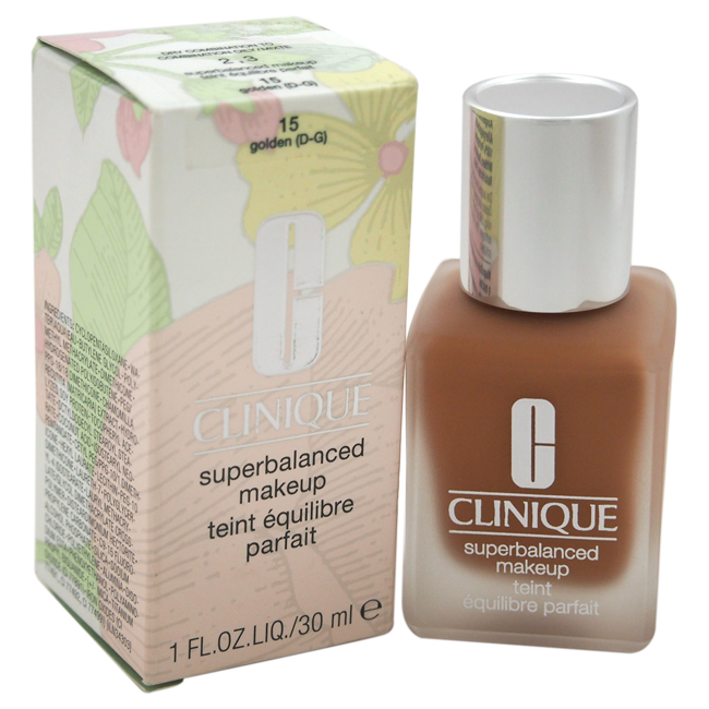 Superbalanced Makeup - # 15 Golden (D-G) - Dry Combination To Combination Oily by Clinique for Women - 1 oz Foundation