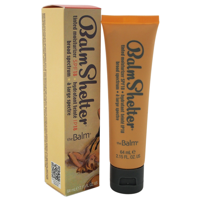 BalmShelter Tinted Moisturizer SPF 18 - Light/Medium by the Balm for Women - 2.15 oz Makeup