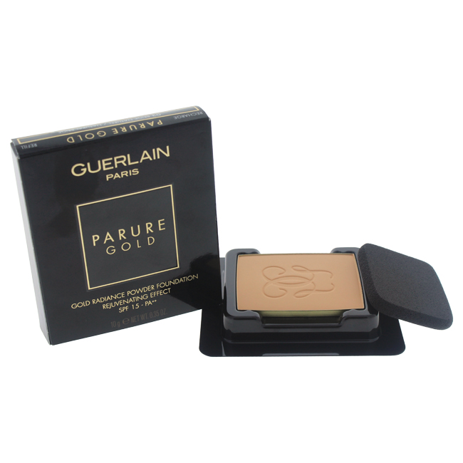 Parure Gold Radiance Powder Foundation SPF15 - # 03 Beige Naturel/Natural Beige by Guerlain for Women - 0.35 oz Foundation