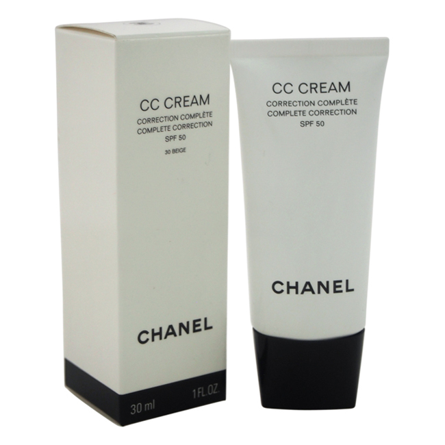 CC Cream Complete Correction SPF 50 - # 30 Beige by Chanel for Women - 1 oz Makeup