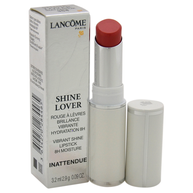 Shine Lover Vibrant Shine Lipstick - # 354 Inattendue by Lancome for Women - 0.09 oz Lipstick